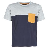 vaatteet Miehet Lyhythihainen t-paita Casual Attitude JERMENE Grey / Laivastonsininen