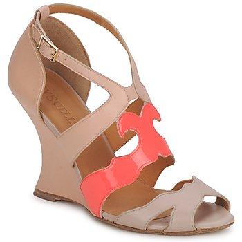 kengät Naiset Sandaalit ja avokkaat MySuelly PAULINE Taupe / Grenadine