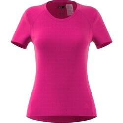 vaatteet Naiset Lyhythihainen t-paita adidas Originals FR SN SS Tee W Vaaleanpunaiset