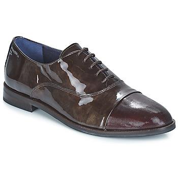 kengät Naiset Derby-kengät Dorking RAQUEL Ruskea