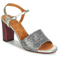 kengät Naiset Sandaalit ja avokkaat Chie Mihara PARIGI Hopea / Black