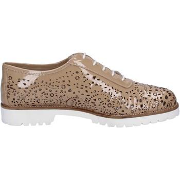 kengät Naiset Derby-kengät La Regina Klassikko BT793 Beige