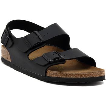 kengät Sandaalit ja avokkaat Birkenstock MILANO BLACK CALZ S Multicolore