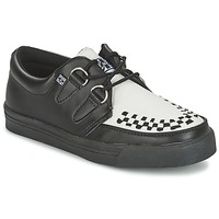 kengät Derby-kengät TUK CREEPERS SNEAKERS Black / White