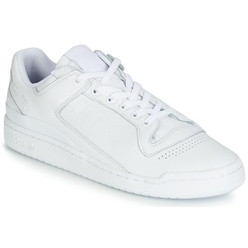 kengät Miehet Matalavartiset tennarit adidas Originals FORUM LO DECON White