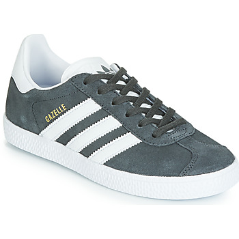 kengät Lapset Matalavartiset tennarit adidas Originals GAZELLE C Grey