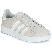 kengät Lapset Matalavartiset tennarit adidas Originals CAMPUS C Grey