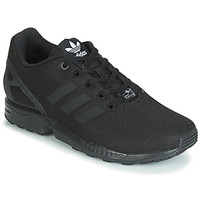 kengät Pojat Matalavartiset tennarit adidas Originals ZX FLUX J Black