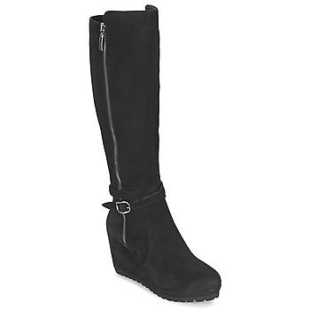 kengät Naiset Saappaat Moda In Pelle SITA Black