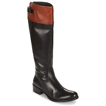 kengät Naiset Saappaat Moda In Pelle TULSY Musta