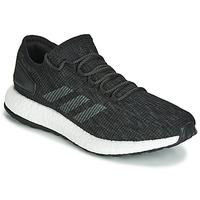 kengät Miehet Juoksukengät / Trail-kengät adidas Performance PureBOOST Black