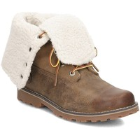 kengät Lapset Talvisaappaat Timberland Shearling 6 Inch Ruskeat