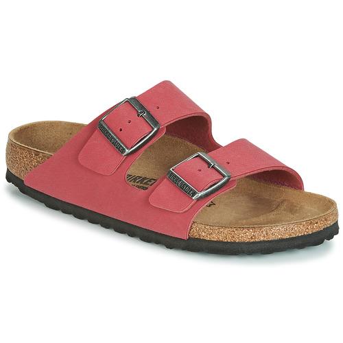 kengät Naiset Sandaalit Birkenstock ARIZONA Red
