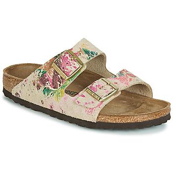 kengät Naiset Sandaalit Birkenstock ARIZONA Beige