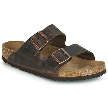 kengät Miehet Sandaalit Birkenstock ARIZONA SFB Ruskea