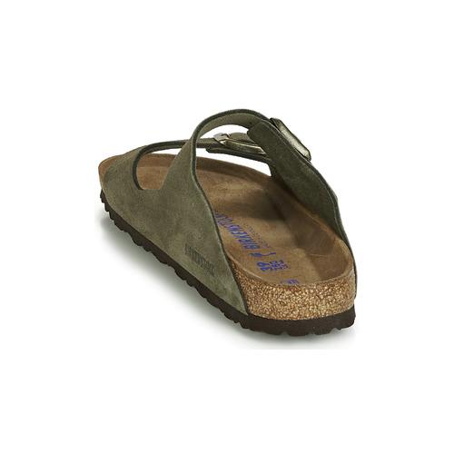 Birkenstock Arizona Sfb Kaki - Ilmainen Toimitus- Kengät Sandaalit Naiset 96