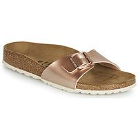 kengät Naiset Sandaalit Birkenstock MADRID Pink / Kulta