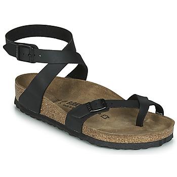 kengät Naiset Sandaalit ja avokkaat Birkenstock YARA Black