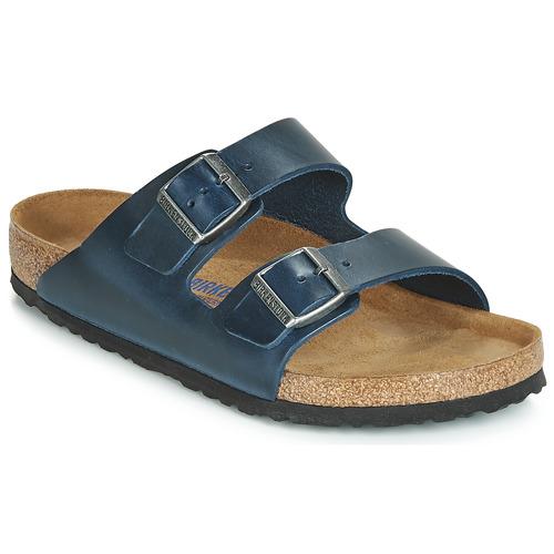 kengät Miehet Sandaalit Birkenstock ARIZONA SFB Blue