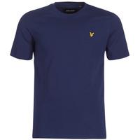 vaatteet Miehet Lyhythihainen t-paita Lyle & Scott FAFARLIBE Laivastonsininen