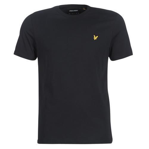 vaatteet Miehet Lyhythihainen t-paita Lyle & Scott FAFARLIBE Black