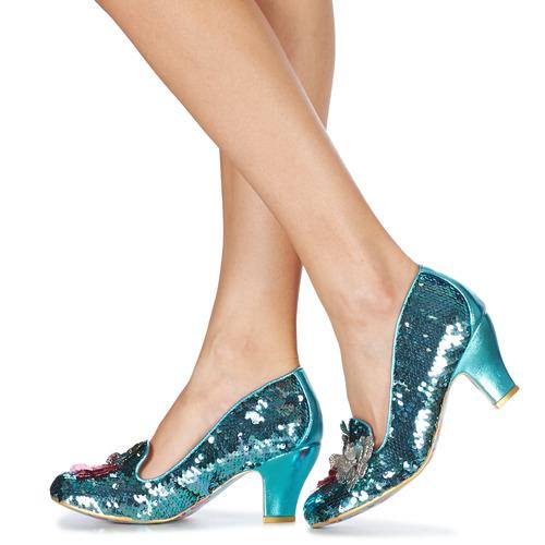 Irregular Choice Cariad Blue - Ilmainen Toimitus- Kengät Korkokengät Naiset 79