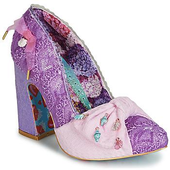 kengät Naiset Korkokengät Irregular Choice TI AMO Violetti