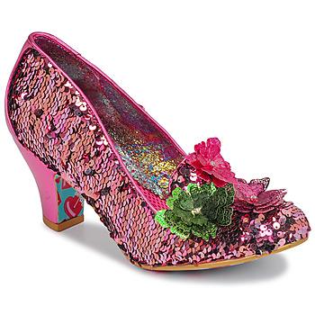 kengät Naiset Korkokengät Irregular Choice CARIAD Vaaleanpunainen