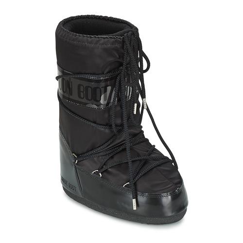 kengät Naiset Talvisaappaat Moon Boot MOON BOOT GLANCE Black