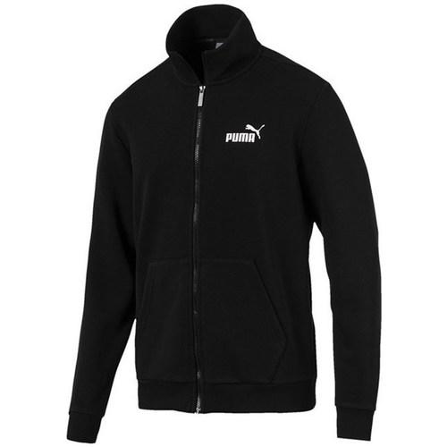 vaatteet Miehet Svetari Puma Essentials Track Jacket TR Mustat