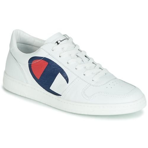 kengät Miehet Matalavartiset tennarit Champion 919 ROCH LOW White