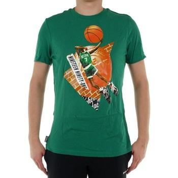 vaatteet Miehet Lyhythihainen t-paita Reebok Sport Classic Basketball Pump 1 Tshirt Vihreät