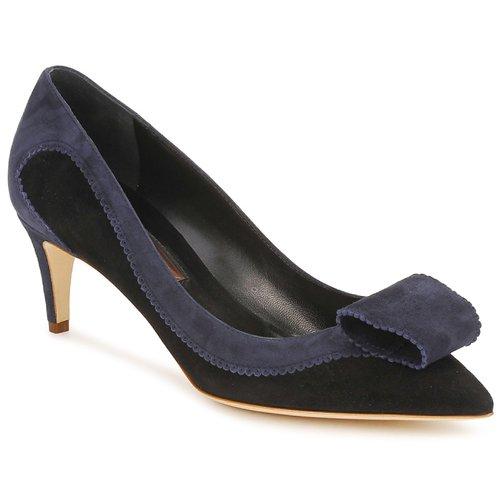 kengät Naiset Korkokengät Rupert Sanderson BESSIE Blue / Black