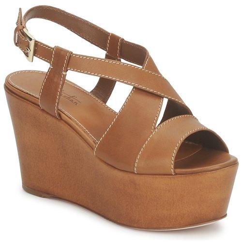 kengät Naiset Sandaalit ja avokkaat Sebastian S5270 Nude