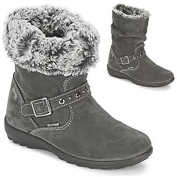 kengät Tytöt Saappaat Primigi GLOSSY GORETEX Grey