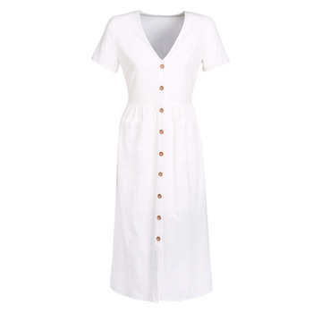 vaatteet Naiset Pitkä mekko Betty London JAGAGE White
