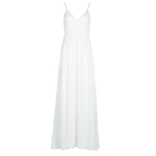vaatteet Naiset Pitkä mekko Betty London VICTOIRE White