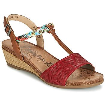 kengät Naiset Sandaalit ja avokkaat Remonte Dorndorf MIJUS Red