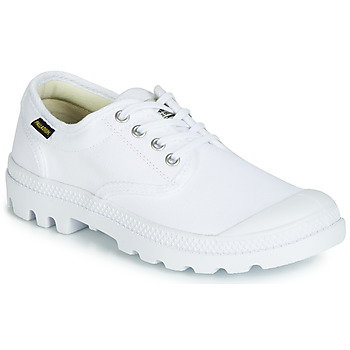 kengät Matalavartiset tennarit Palladium PAMPA OX ORIGINALE White