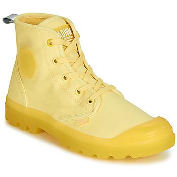 kengät Naiset Bootsit Palladium PAMPALICIOUS Yellow