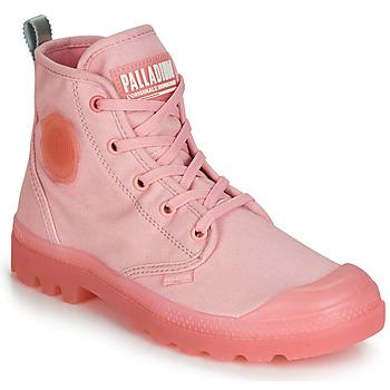 kengät Naiset Bootsit Palladium PAMPALICIOUS Pink