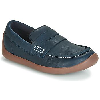 kengät Lapset Mokkasiinit Clarks ArtistStride K Laivastonsininen