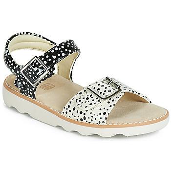 kengät Tytöt Sandaalit ja avokkaat Clarks Crown Bloom K Black