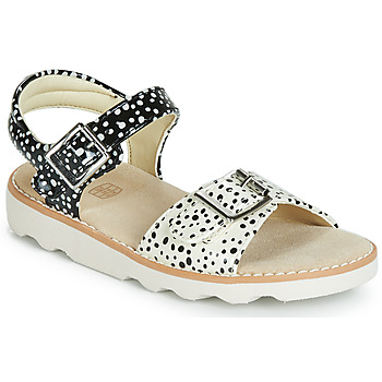 kengät Tytöt Sandaalit ja avokkaat Clarks Crown Bloom T Musta