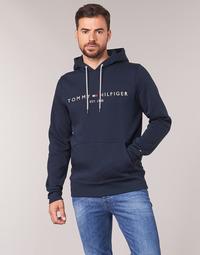 vaatteet Miehet Svetari Tommy Hilfiger TOMMY LOGO HOODY Laivastonsininen
