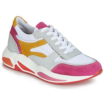 kengät Naiset Matalavartiset tennarit André ROLLO White / Pink