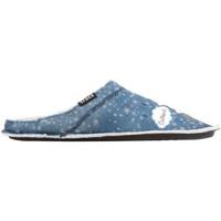 kengät Naiset Tossut Crocs GRAPHIC SLIPPER 204565-410 blue