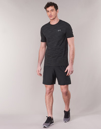 vaatteet Miehet Shortsit / Bermuda-shortsit Under Armour WOVEN GRAPHIC SHORT Musta