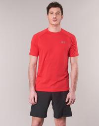 vaatteet Miehet Lyhythihainen t-paita Under Armour TECH 2.0 SS TEE Red