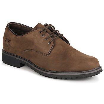 kengät Miehet Derby-kengät Timberland EK STORMBUCK PLAIN TOE OXFORD Brown
